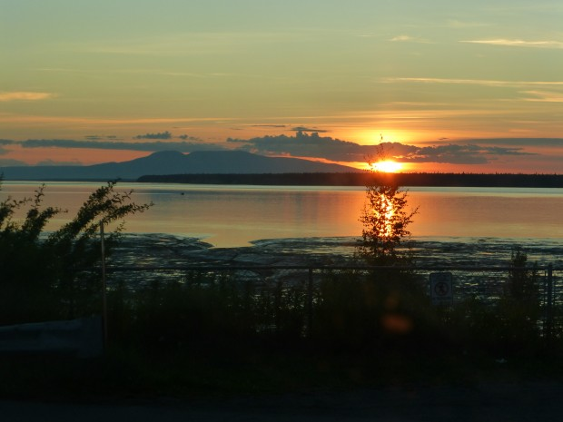 Susitna sunset-- 10:38 pm, 7.31.15, Anchorage, Ak