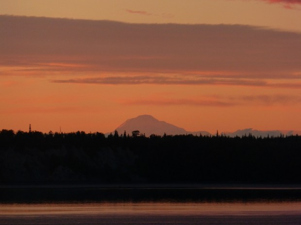 Denali from Anchorage-- 8.10.15, 10:23 pm